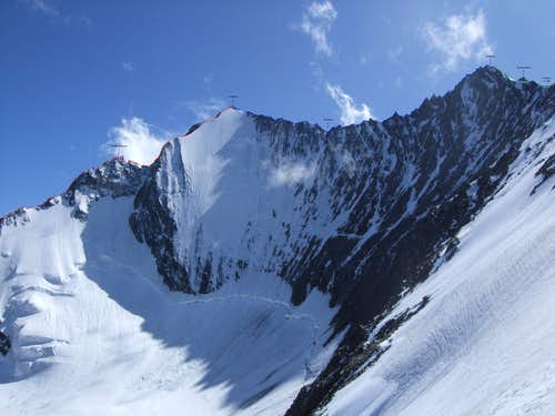 Lenzspitze ENE-ridge