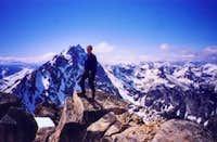 Erick Johnson on the summit...