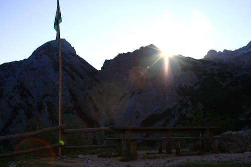 Sunrise from Ceska koca