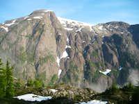 Comox Glacier SE Aspect
