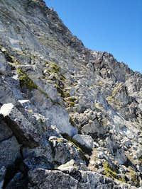 downclimbing
