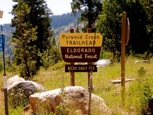 Pyramid Creek Trailhead