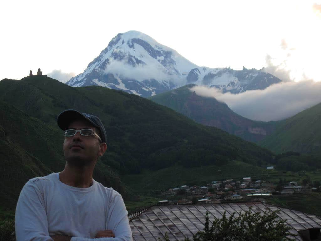 GYS ON Mt KAZBEK
