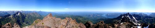Mount Washington 360° View