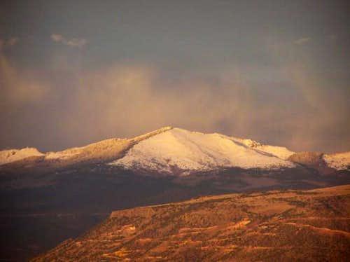 9 April 2004 - Mount Taylor...