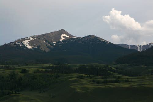 Mount Leidy Highlands and the Gros Ventre Range