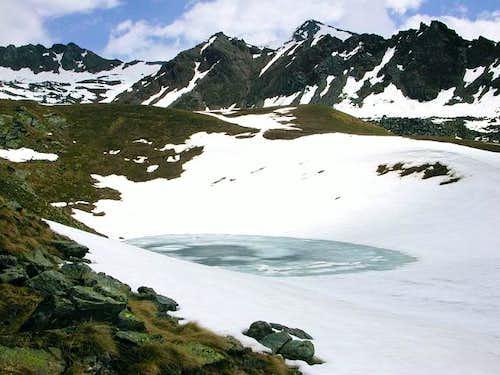 il lago Corona inferiore
