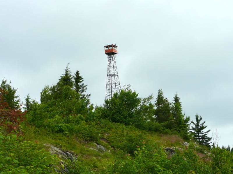 Fire Tower on Maple Mountain