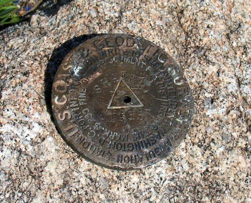 Shafer Butte Benchmark (ID)
