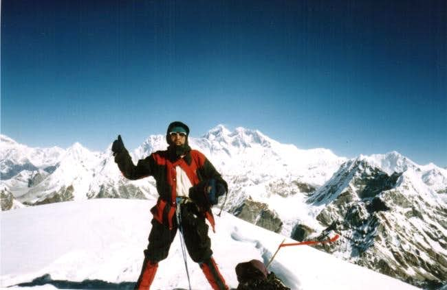 Dandi Sherpa, my guide on...