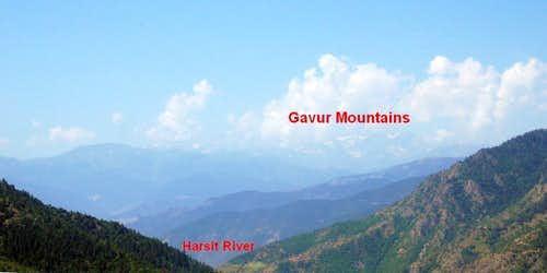 Gavur Mountains in the horizon