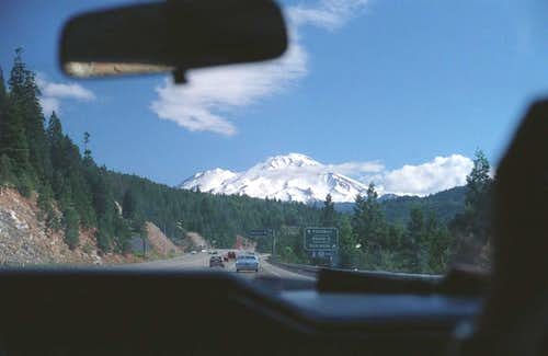 Shasta from I-5 northbound