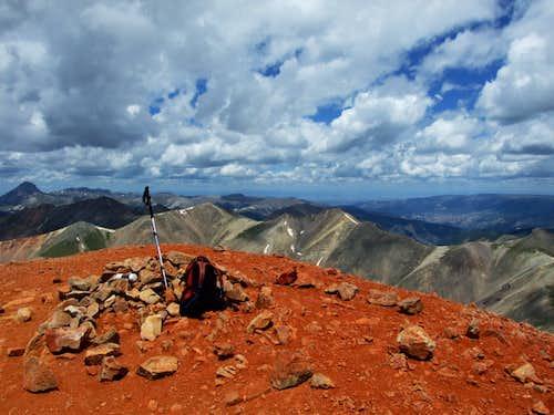 Redcloud Peak
