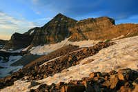 Sunrise on Timp\'s main summit.