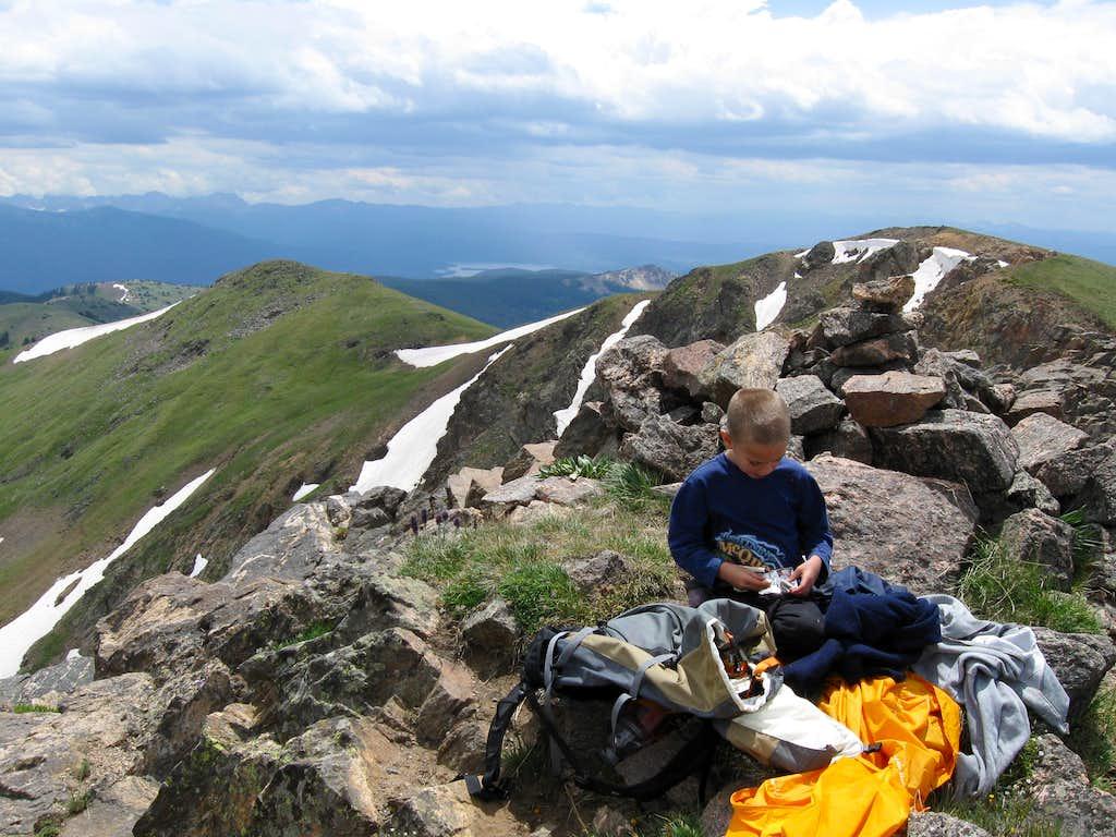 Summit of Cascade Mountain