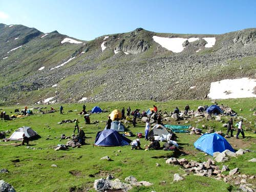 Our 2600m camp