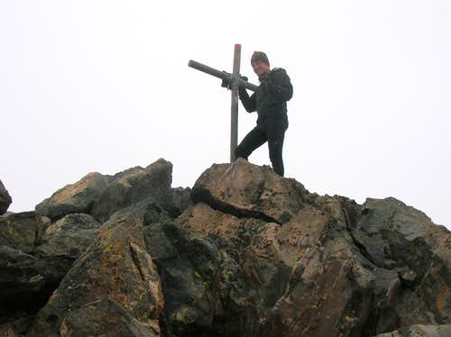Myself at the summit