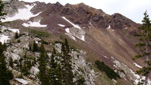 Red Baldy via Silver Lake