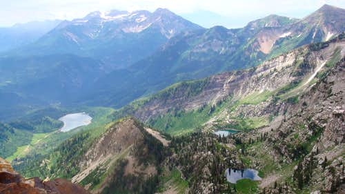 View south from Red Baldy