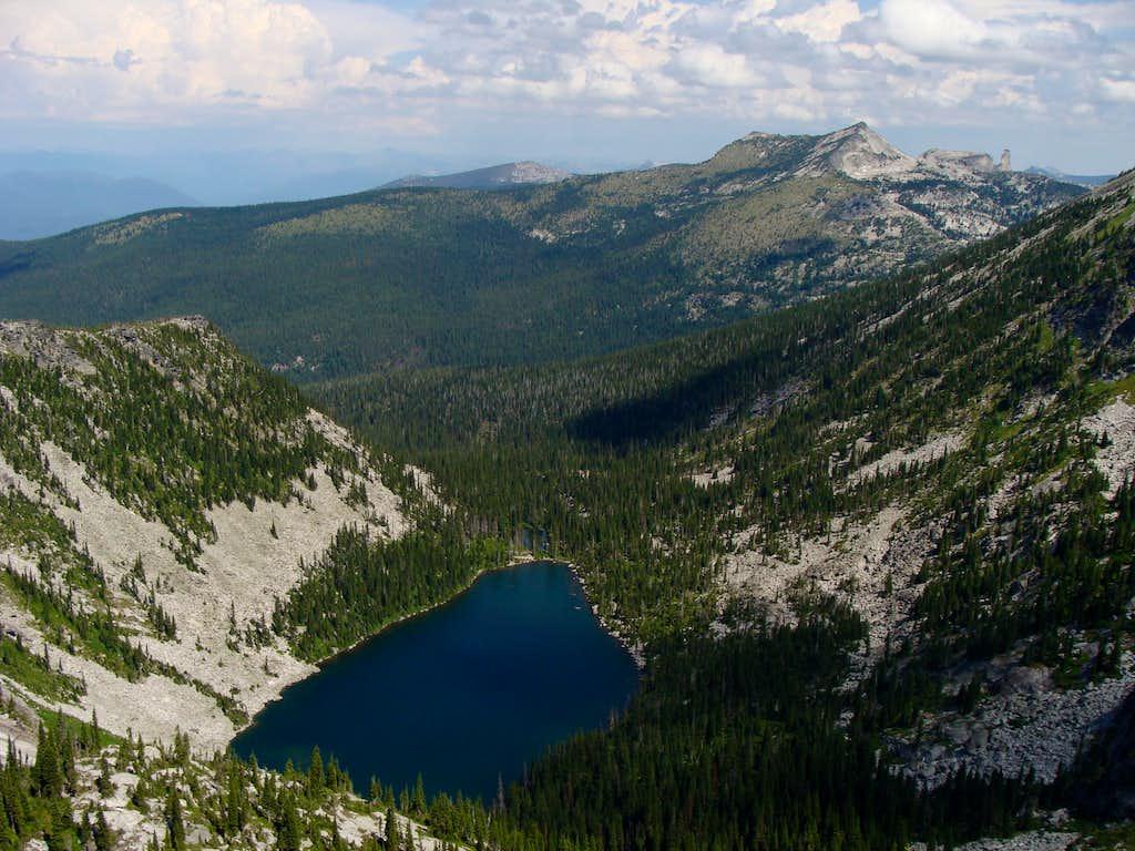 Above Hunt Lake