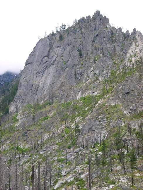 Snow Creek Wall