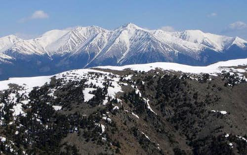 Mount Shavano as seen from...
