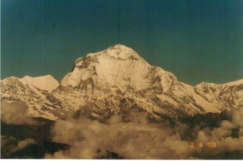 Dhauligiri taken from a...