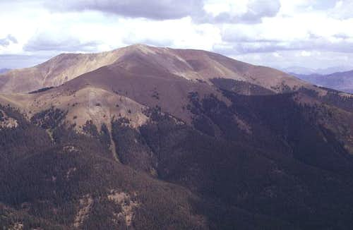 Parkview Mountain from the west