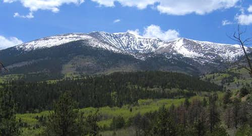 Mount Ouray and the full...