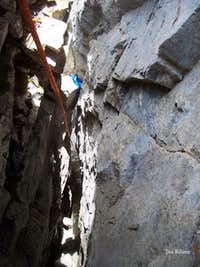 Chockstone Corner Direct, 5.10a, 9 Pitches