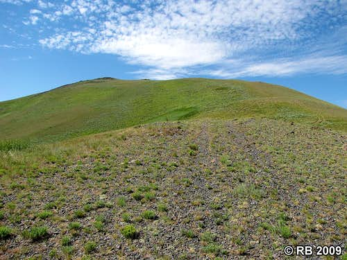 Knoll Mountain route start
