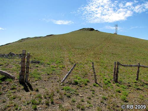 Knoll Mountain route