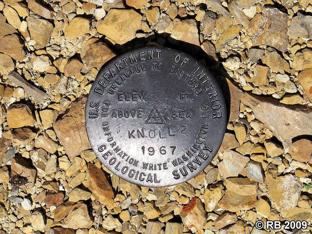 Knoll Mountain benchmark