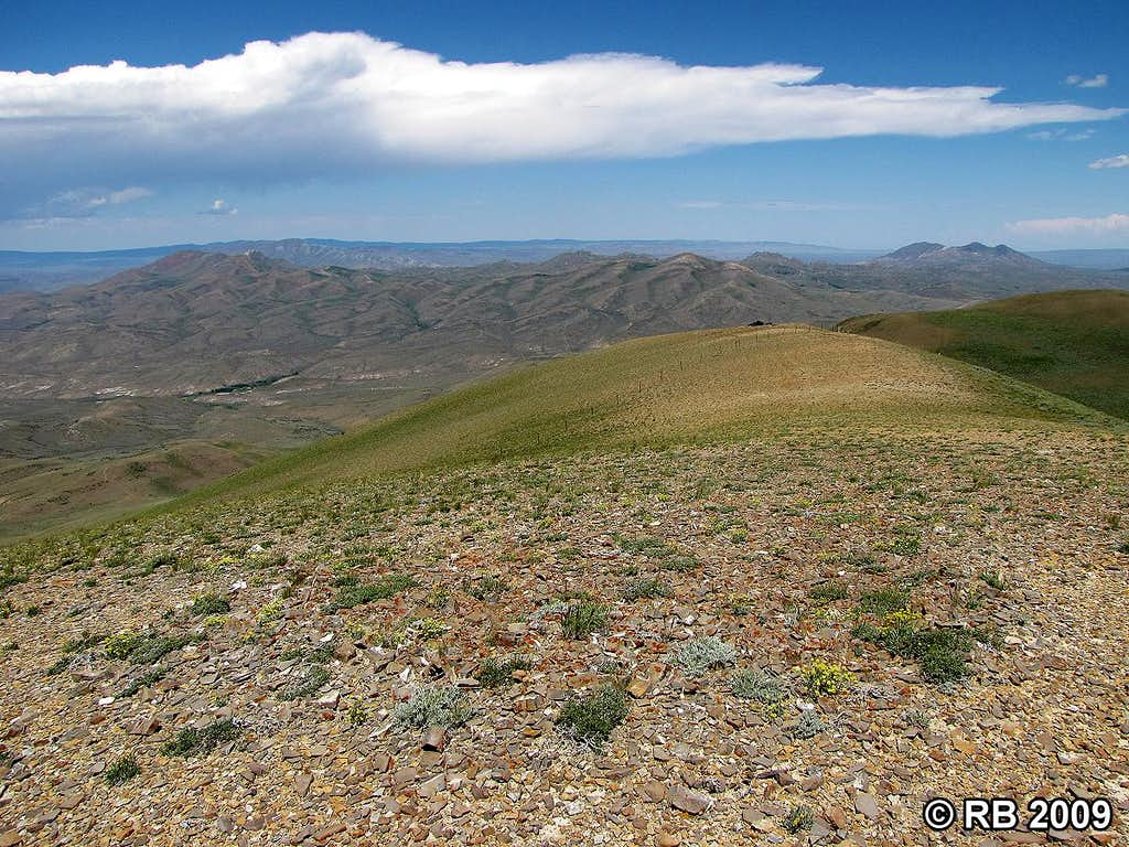 Knoll Mountain summit view