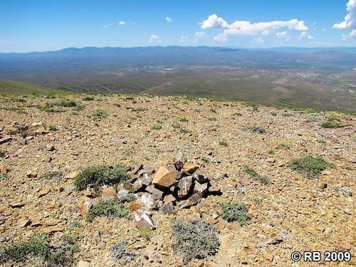 Knoll Mountain summit