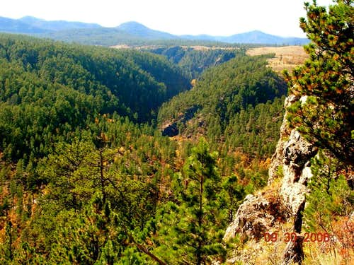 The Stratobowl in the Black Hills