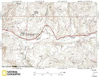Knoll Mountain access route (2/3)