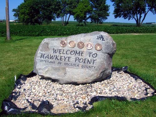 Hawkeye Point - Veteran\'s Memorial