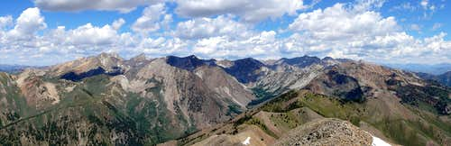 Western Pioneers from Grays Peak