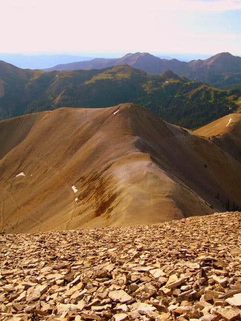Looking east from the top of Mount Belknap
