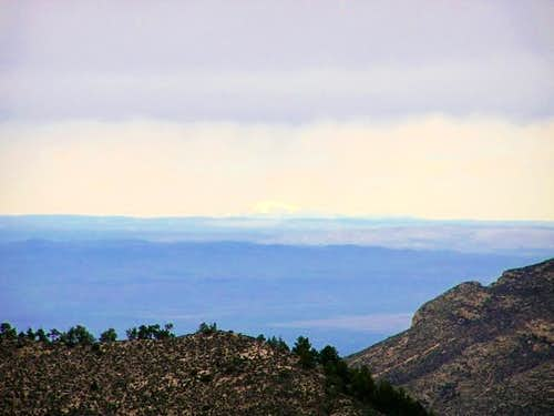 Sierra Blanca as seen from a...