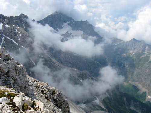 Zugspitze from Alpspitze