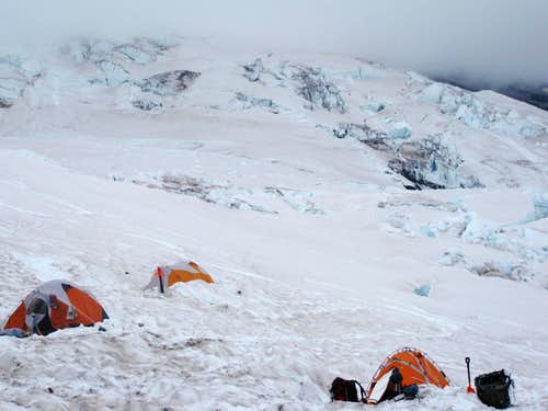 Our Tents at Camp Schurman