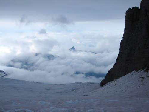View from Camp Schurman, Emmons Glacier