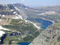 Hidden Lake from Dragon s Tail