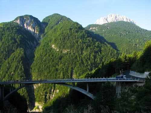 New bridge near Pedil Pass