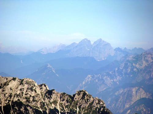 I can see even Dolomiten