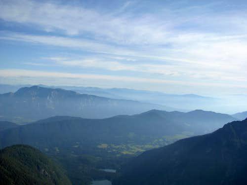 Mountain above Villach