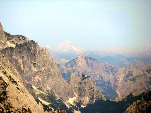 Far Antelao in Dolomites