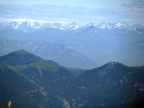 Austrian Glaciered Mountains